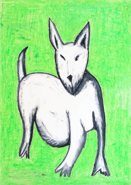 hund, grün